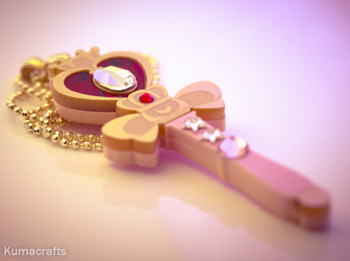 hautecute:  Sailor Moon Jewelry by Kuma Crafts, read more on Haute Cute