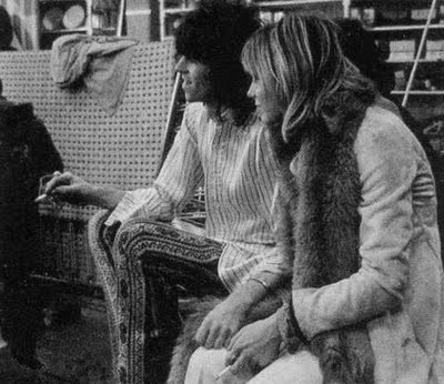 KEITH RICHARDS et ANITA PALLENBERG
