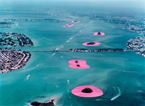 Surrounded Islands, Biscayne Bay, Miami, Florida, 1983 — Christo and Jeanne-Claude