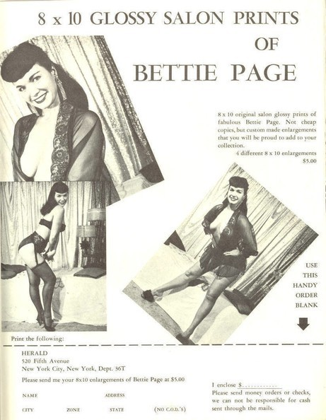 RARE BETTIE PAGE (ADULT ONLY) DAILY  RAREBETTIEPAGE.BLOGSPOT.COM NSFW