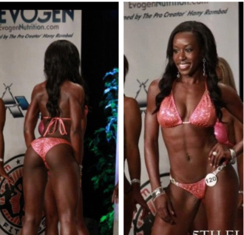 My second bikini competition is complete! Biggest show of the year with over 500 competitors. Didn't place in top 5, but had a blast and met so many amazing ladies. #NPCbikini #NPC #fitness #hardwork #exercise #gym #frontpose #backpose #glutes #abs #ass #squats #trainhard