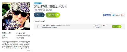 One, Two, Three, Four! EXCLUSIVE TO BEATPORT! Get your copy today!! Click here!