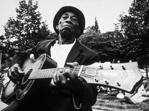 The blues ain't nothin' but a good woman on your mind — Mississippi John Hurt
