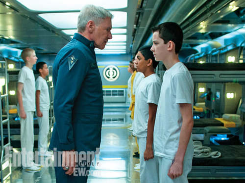 Presenting the first official look at Ender's Game — an upcoming adaptation of Orson Scott Card's beloved sci-fi novel that stars Asa Butterfield as Ender and Harrison Ford as Colonel Graf. Ready, Launchies?
