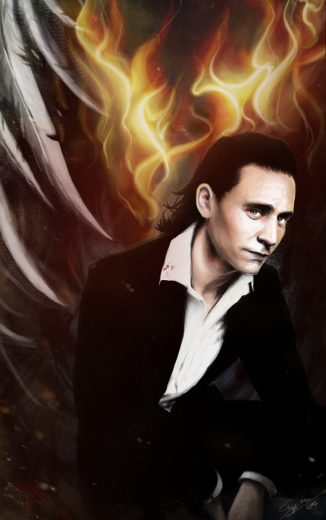 tom-winchester:  The devil's advocate FINISHED finally Hope you like it! Yes this is fire