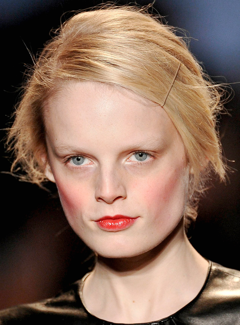 hanne gaby odiele at michael kors fall 2012