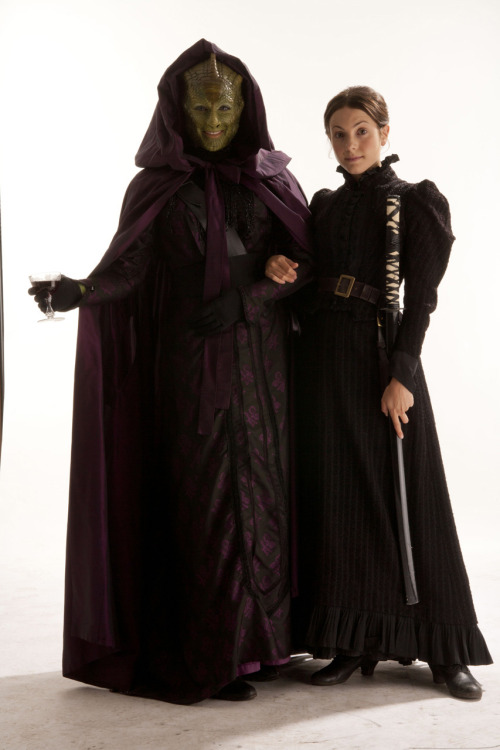 Madame Vastra and Jenny There are a bunch of new promo images that we'll be posting to this blog over the next couple of days. In the meantime, you can check them all out now in a gallery on BBC AMERICA's Doctor Who website.