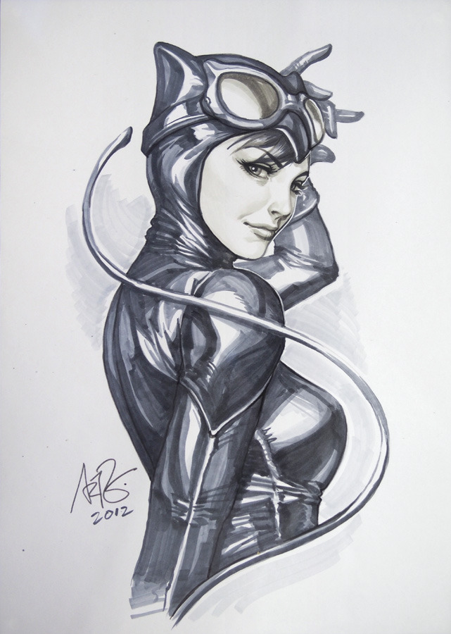 streammonster:  Catwoman Orginal1 by `Artgerm