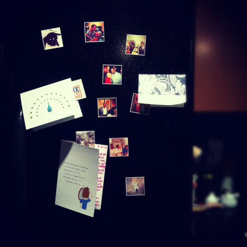 littlelaur:  if you haven't considered getting stickygrams [instagram magnets] for your fridge… i highly recommend you do.  walking into my kitchen every morning to be greeted by my some of my favorite people is a pretty solid way to start the day. stickygrams are $14.99 per sheet of 9 with free worldwide shipping  For future reference!