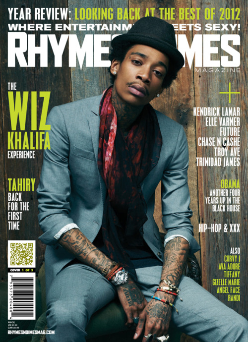 Wiz Khalifa Covers Rhymes and Dimes Magazine #MagazineMonday