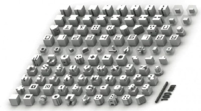 joshbyard:  Harvard Researchers Create Self-Assembling Nano Bricks Made of DNA  Harvard's Wyss Institute, which brought us 700-terabytes-per-gram-of-DNA data storage earlier in the year, has now produced DNA Lego bricks — three-dimensional DNA building blocks that self-assemble into more than 100 different, three-dimensional structures (pictured above). These DNA Lego bricks are short strands of DNA that have been specially crafted to join with other DNA bricks at a 90-degree angle — just as if you had pushed two eight-stud Lego bricks on top of each other at 90 degrees. By joining more and more of these DNA bricks together, a 3D structure emerges. In this case, the DNA Legos are built into 25-nanometer cubes, which consist of around 1,000 voxels, with each voxel consisting of DNA strands that are just 2.5nm. A voxel (volumetric pixels) is a term borrowed from graphics; it's essential the 3D equivalent of a 2D pixel.  (via Harvard creates self-assembling DNA nanostructures from tiny DNA 'Lego bricks' | ExtremeTech)