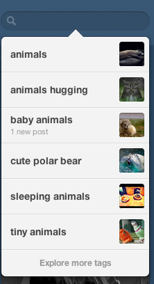 I follow a lot of important tags on tumblr.