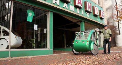 ELF Velomobile: a solar and pedal powered electric hybrid vehicle