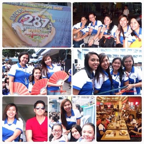 278th Foundation day of St. Mary's College Quezon City. :) #firstday #120412 #fun #celebration #igasia #instafollowers #instalike #instagood #instamood #teachers #igersmanila #igersphilippines