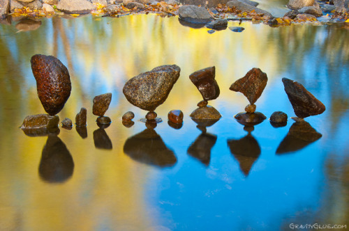 oliphillips:  Balanced Rock Sculptures  by Michael Grab
