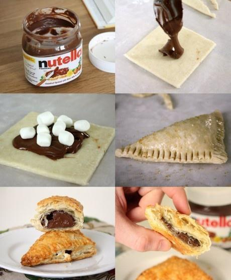 DIY: Nutella Smores!