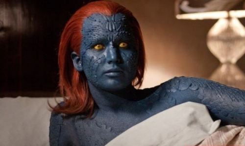 Jennifer Lawrence Would Prefer If Her X-Men Make-Up Didn't Ruin Her Life This Time Around