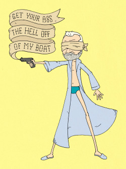 """Get Your Ass the Hell Off Of My Boat"" by Derek Eads"