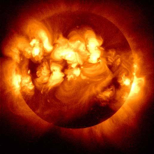 Photo Composition of Multiple Solar Flares, NASA | Daily Dose of Daylight | www.ciralight.com