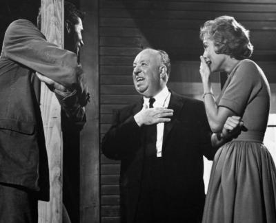 During the filming, Alfred Hitchcock placed the prop used as Mrs. Bates' corpse in Janet Leigh's dressing room without her knowledge. He did this to test the fear factor of the prop. Psycho (1960)