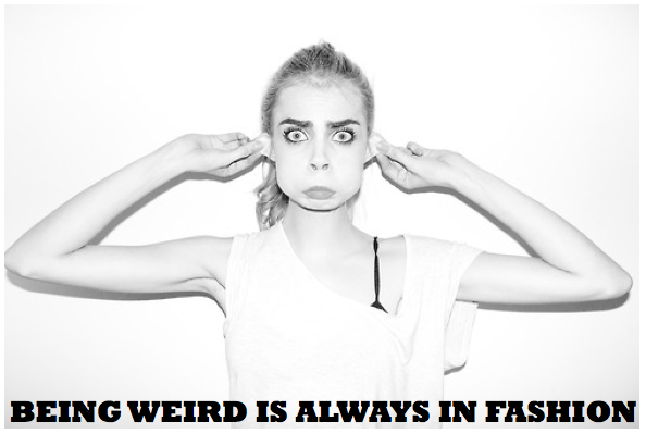 Photo by Terry Richardson, words of wisdom by me, and a lovely face by Cara Delevingne