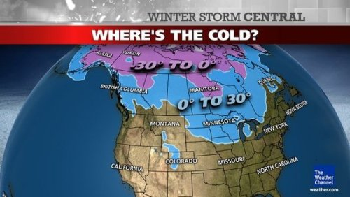 Snow, cold missing across much of the US (Photo: The Weather Channel)  If you like your early Decembers mild and with just a touch of snow, this one's for you: Not only have temperatures been warm in many parts, just 7 percent of the continental U.S. is currently covered with snow — a much smaller footprint than the 32 percent this time last year. Read the complete story.