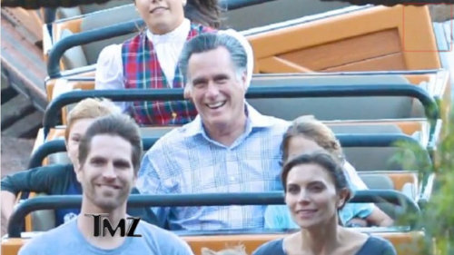 I had a little fun writing this story: Mitt Romney, celebrity blog star.