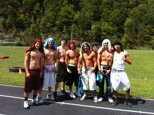Dalton, Chase, Blake, Chris, Jacob, Josh, Arlin & James.