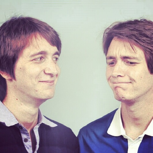 hpotterweasley:  Silly face James and Oliver smile:D love these boys  Is there anything than the Phelps twins making faces? <3