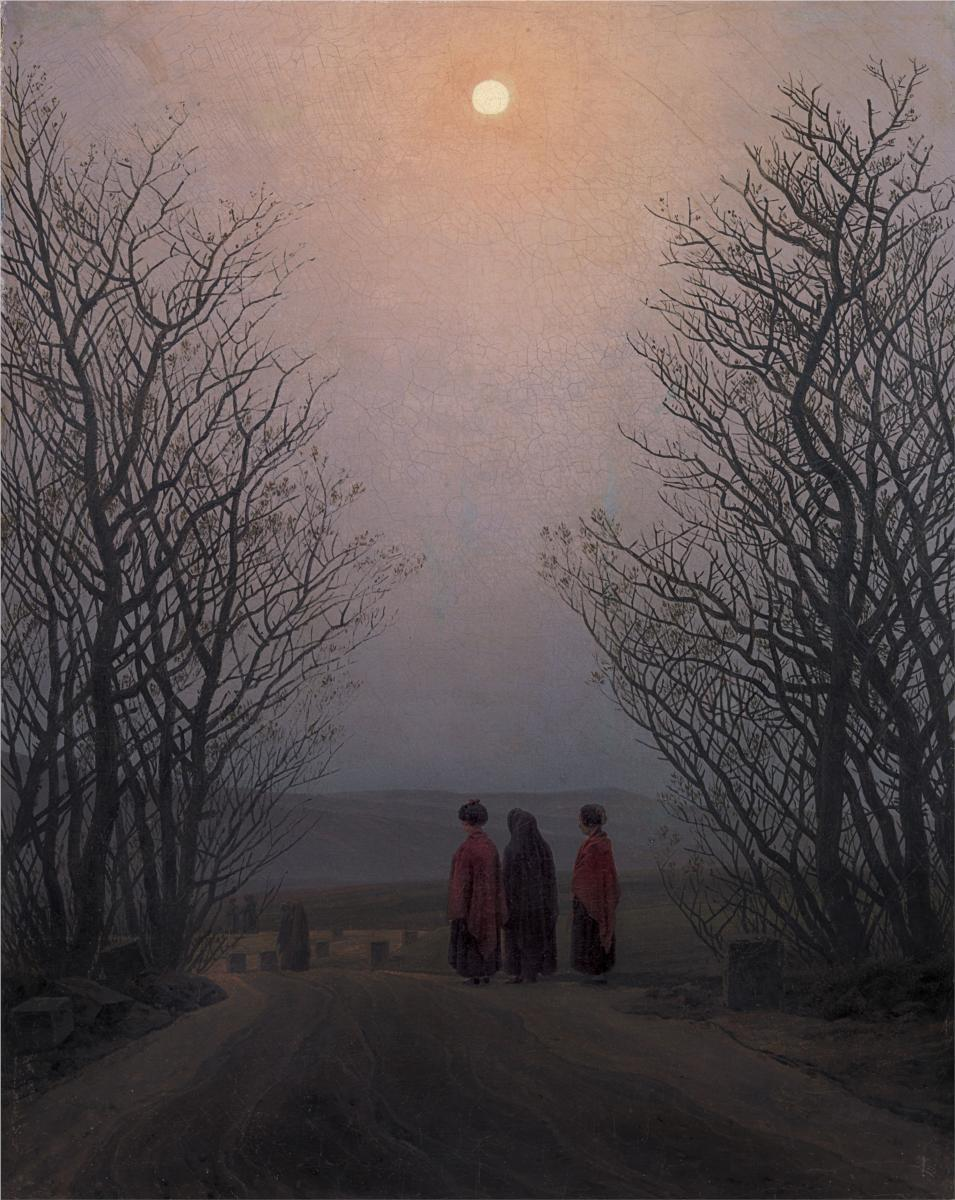 Caspar David Friedrich - Easter Morning (1835)