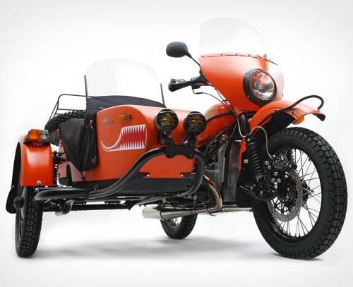 Ural Yamal Limited Edition Sidecar Motorcycle. Dasvidaniya, normalcy. Hello, beautiful bike.