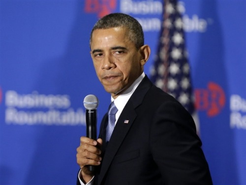 Obama sees signs GOP might relent on tax hikes for wealthy (Photo: Charles Dharapak / AP)  President Barack Obama on Wednesday suggested that some Republicans had begun to soften their opposition to increased tax rates on the wealthiest Americans, but sharply warned the GOP against looking to tie their budget fight to an upcoming debate over whether to increase the debt ceiling. Read the complete story.