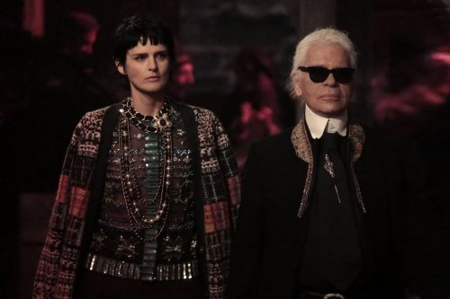 Of course Chanel showed their pre-fall collection in a 600-year-old castle. Of course they did.