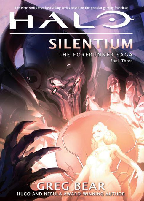 Halo: Silentium cover revealed If you haven't beaten or even played Halo 4, then you'll have no idea what's going on Greg Bear's latest Halo novel. For that matter you may also be wondering who the hell is the robot looking dude on the cover. That's the Didact. I just spoiled a surprise reveal - sorry. Halo: Silentium is the sequel to Primordium, which from what we hear is a pretty damn good book. You can pick up Silentium this coming March 19th,2013; but only if the world doesn't end. If it does, no books or Halo for any of us.