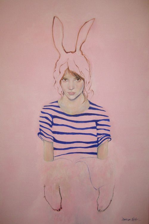 faredisfare:  Denise Nestor, Rabbit Girl