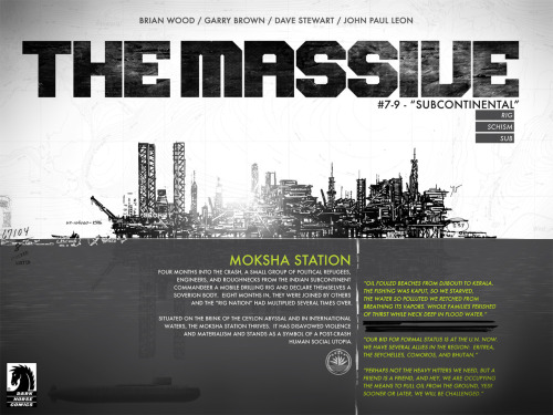 themassive:  Click to make big. Then go here for an exclusive look at The Massive #7