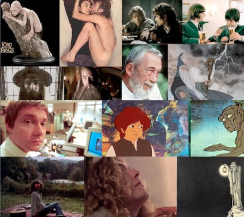 What does everyone in this photo collage have in common? (ANSWER: HOBBITS.)