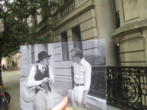 These Vanity Fair pictures are so inspiring! Scenes from Annie Hall to Breakfast at Tiffany's matched to their real-life locations.