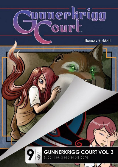 Today's digital comiXology release is Gunnerkrigg Court Vol. 3 Part 9!