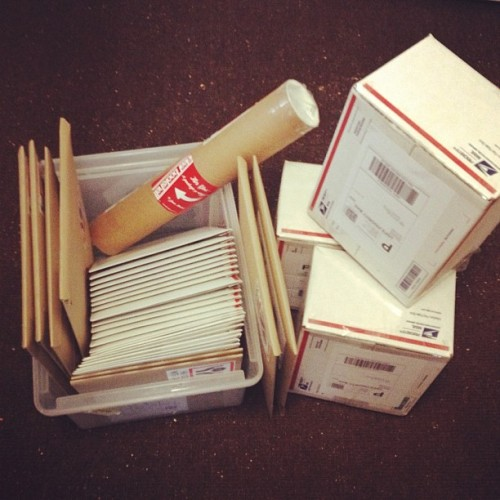 shipping holiday orders like elves 🎁
