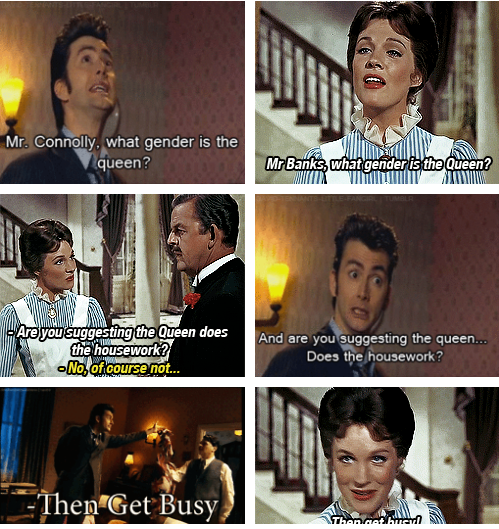 syfycity:  The Doctor quoted Mary Poppins!!!http://syfycity.tumblr.com