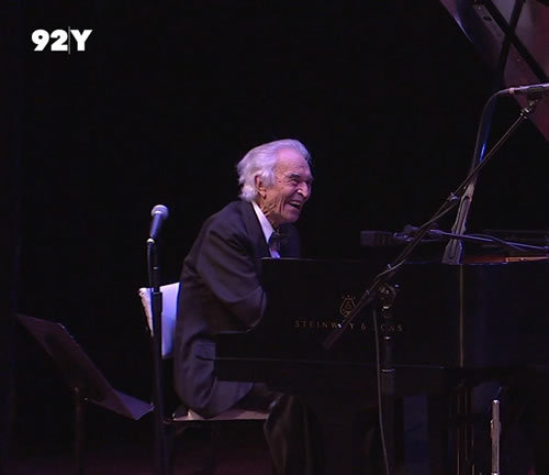 "Dave Brubeck Quartet performing at 92Y on April 12, 2011. ""We're sorry to hear of our friend Dave Brubeck's passing. He was a fabulous musician and a wonderful gentleman. We are very grateful to have had him perform at 92Y many times, most recently in April 2011."" -Hanna Arie-Gaifman, Director, 92nd Street Y Tisch Center for the Arts"
