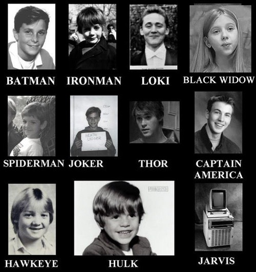 rizaisdabest:  The Avengers(and other heros): School Days