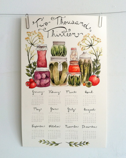 Canning Calendar available here