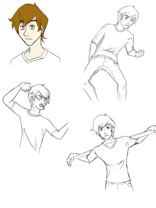 So I wanted to practice expressions and poses, but I didn't want to use stock images. And then I remembered that I have about a billion pictures of Tony on my computer from various photoshoots and that he makes amazing faces and poses! So here, Tony! Thank you for helping me learn art thinggssss even though you didn't know itttt~~!