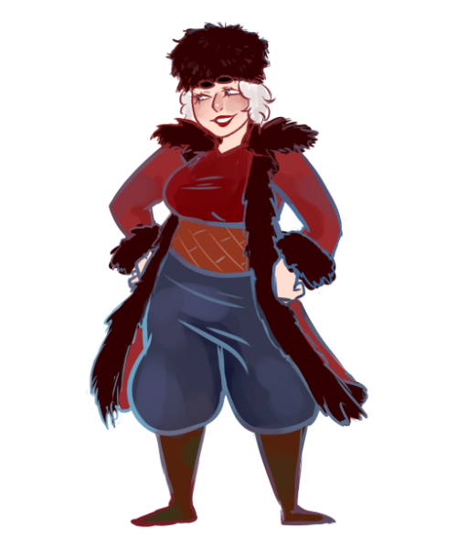 gomuboo:  So I made a Fem North pic to use for my rp blog. I wanted to post it on here cause I like how she came out.