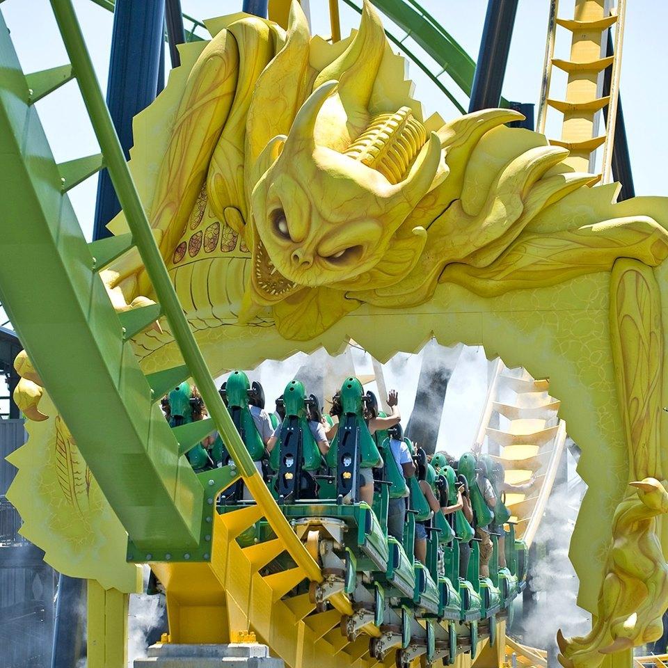 Green Lantern, Six Flags Great Adventure