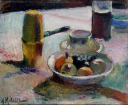 deadpaint:  Henri Matisse, Fruit and Coffeepot