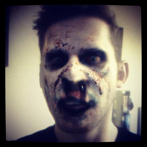 #zombiU makes you a zombie.