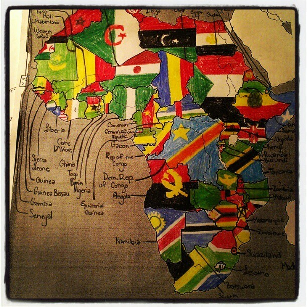 clairecarmichael:  #freshmanyear #memories #insane #map #countries  Thought you might like this one too, Erin.